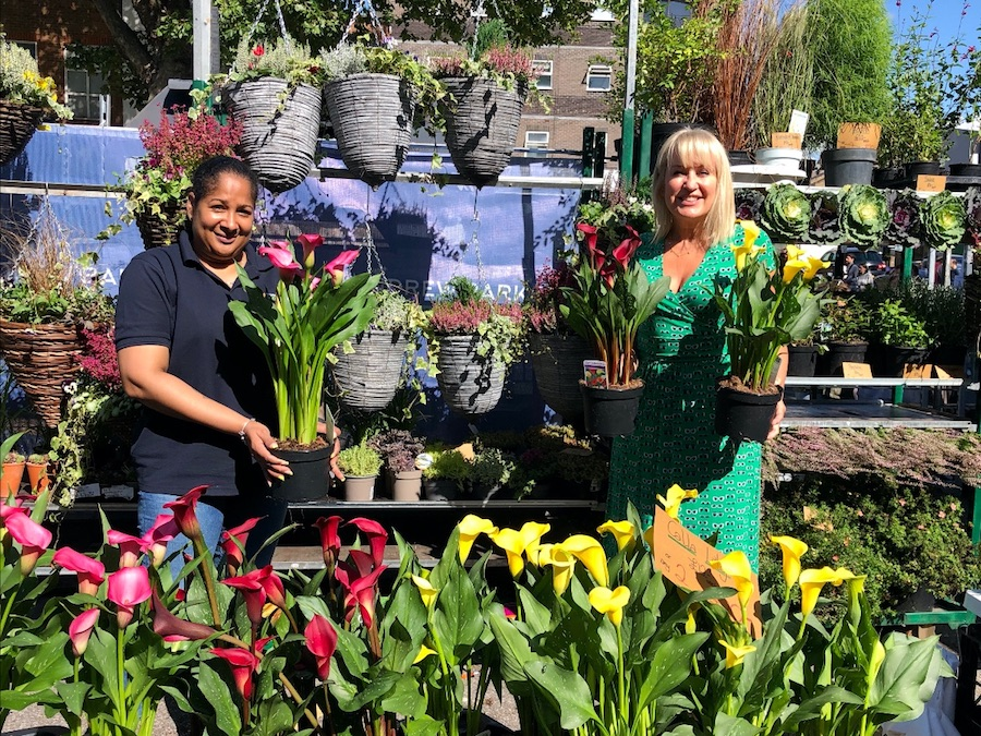 Chiswick Flower Market a Roaring Success