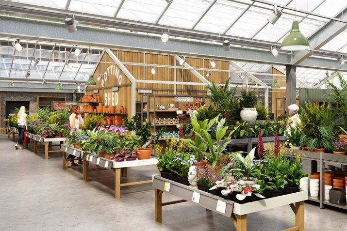 RHS Garden Wisley Bucks the Trend against High Street Sales